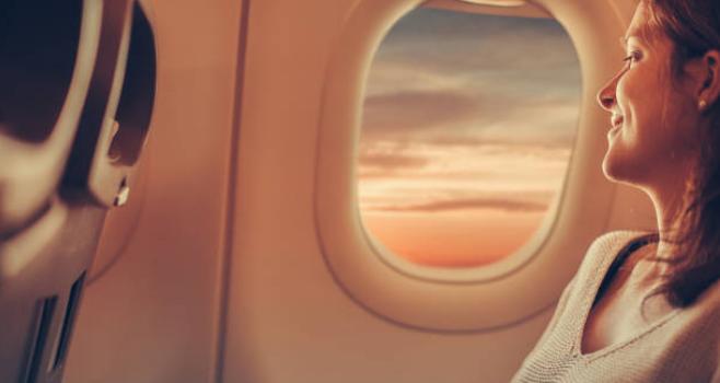 Cu avionul în timpul sarcinii în siguranță.